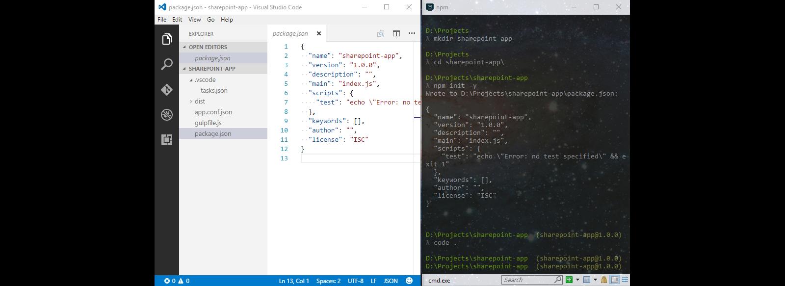 Preparing development machine for client-side SharePoint