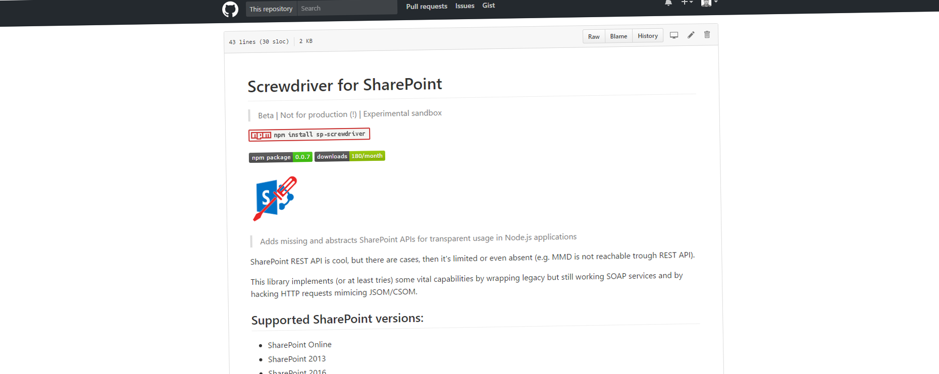 Working with SharePoint MMD in Node js
